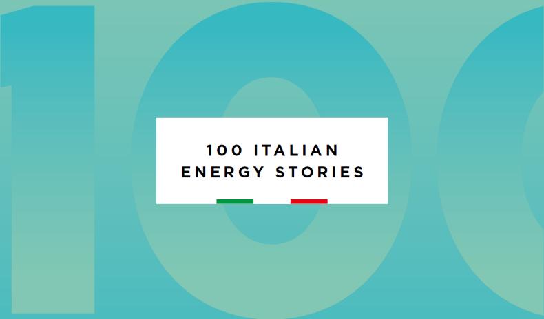Aria nelle 100 Italian Energy Stories